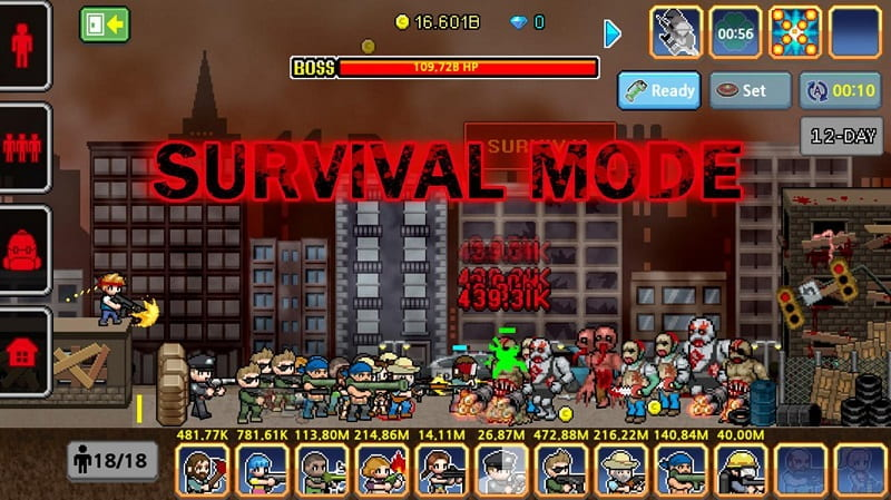 100 DAYS Zombie Survival mod apk