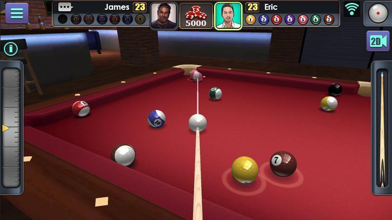 3D Pool Ball mod free