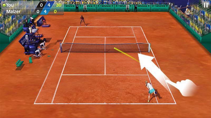 3D Tennis mod free