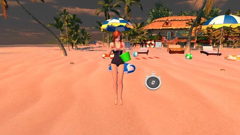 3D Virtual Girlfriend Offline mod android