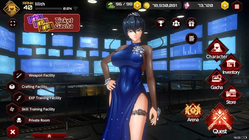 Action Taimanin mod download