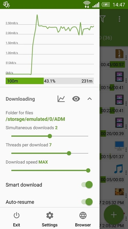 Advanced Download Manager mod apk