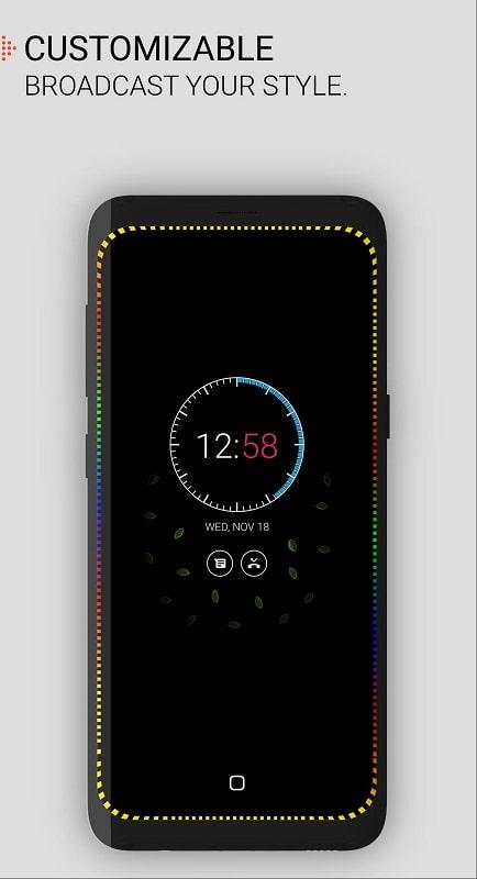 Always on AMOLED Edge Lighting mod android