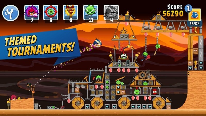 Angry Birds Friends mod android