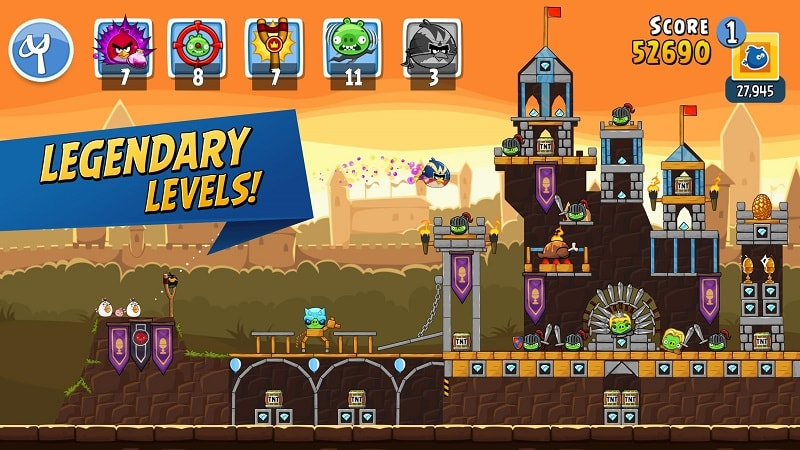 Angry Birds Friends mod download