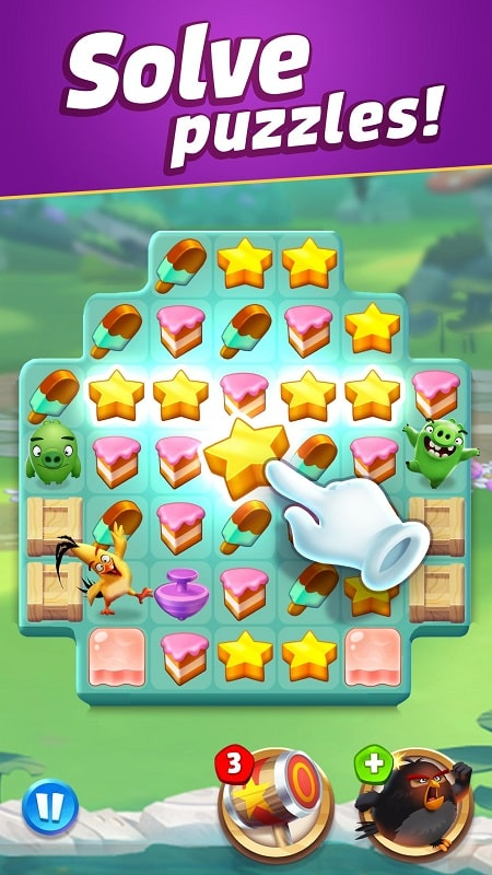 Angry Birds Match 3 mod download