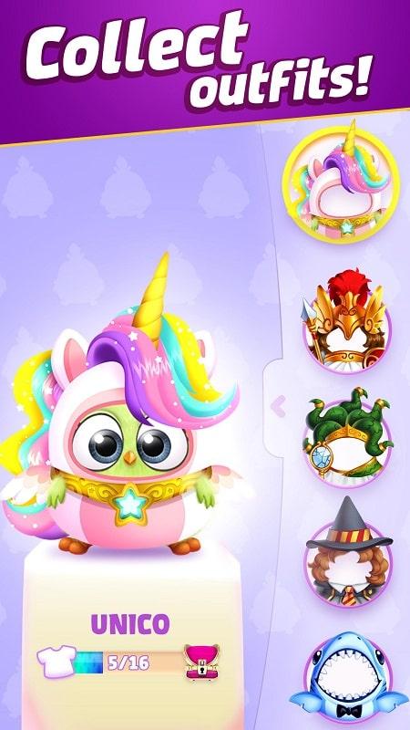 Angry Birds Match 3 mod free