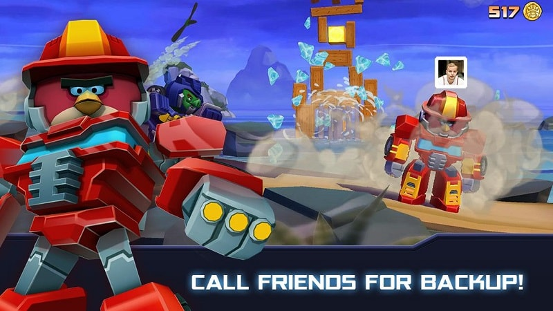 Angry Birds Transformers mod android