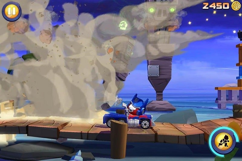 Angry Birds Transformers mod download