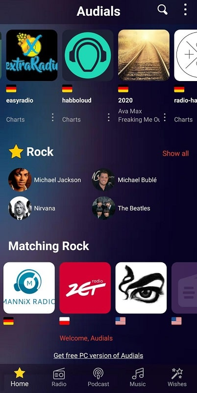 Audials Radio Pro mod