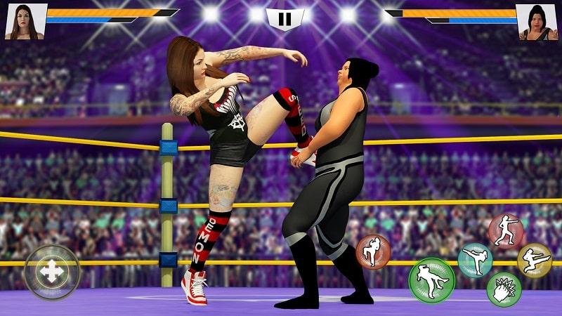 Bad Girls Wrestling Fighter mod apk