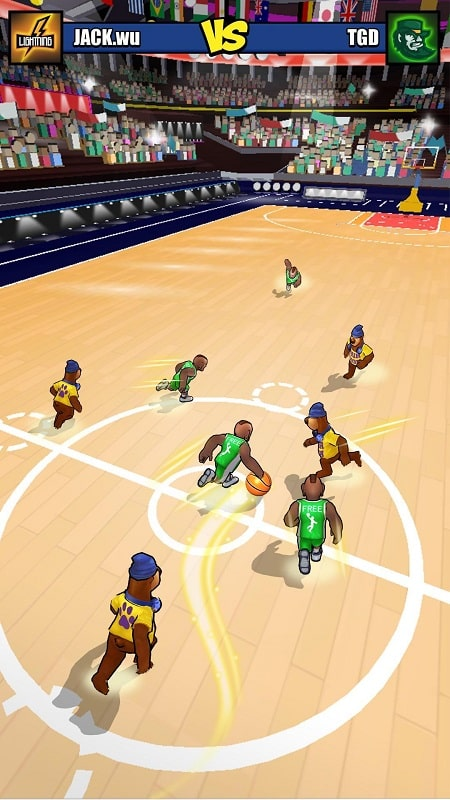 Basketball-Strike-mod-apk