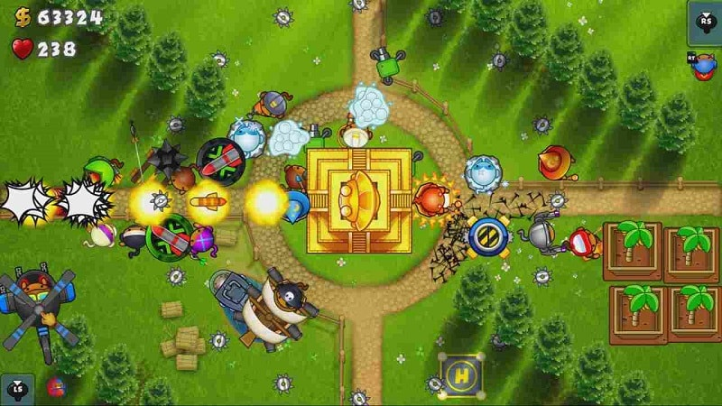 Bloons TD 5 mod android