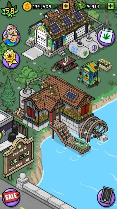 Bud Farm mod free
