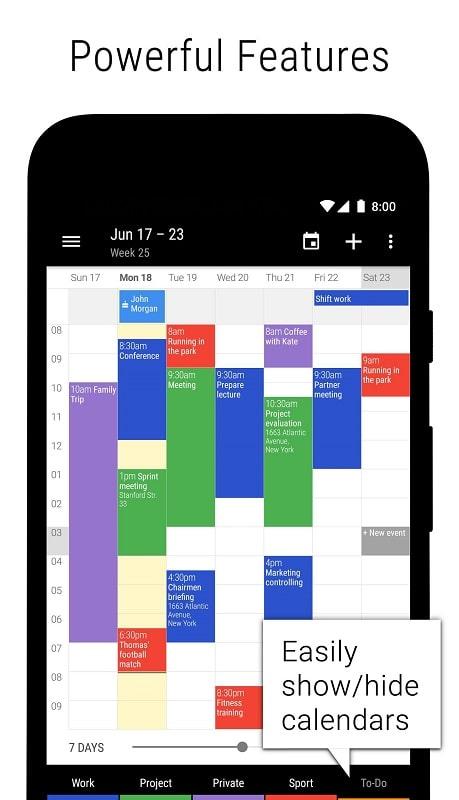 Business Calendar 2 Pro mod apk