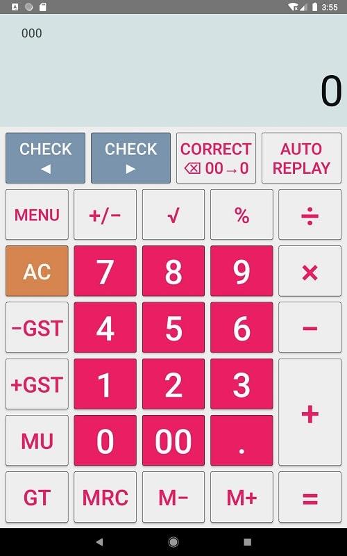 CITIZEN Calculator mod1