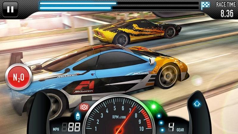 CSR Racing mod free