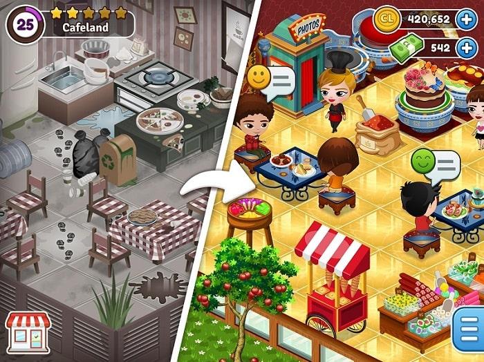 Cafeland World Kitchen mod