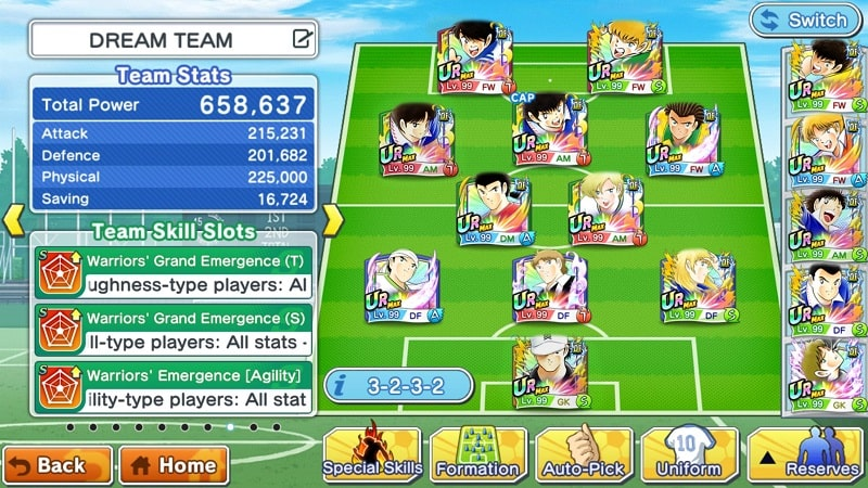 Captain-Tsubasa-Dream-Team-mod-free