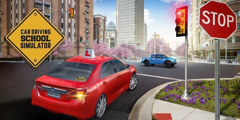 Car-Driving-School-Simulator