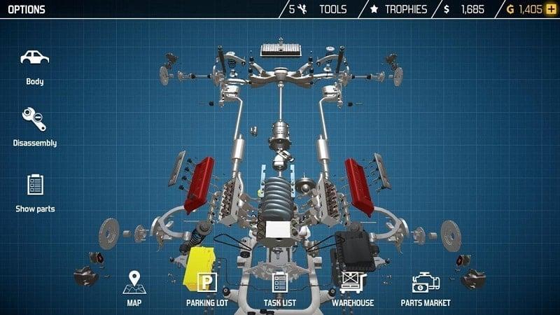 Car Mechanic Simulator mod android