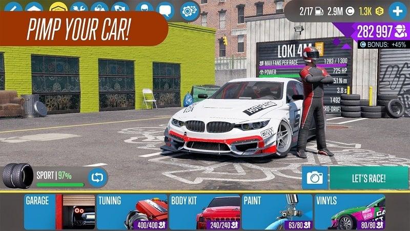 CarX Drift Racing 2 mod download