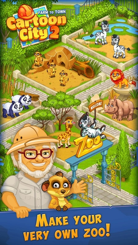 Cartoon City 2 mod free