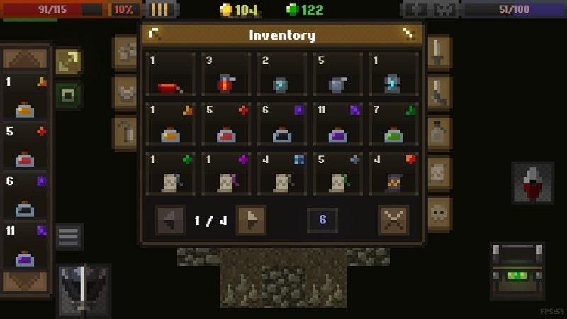 Caves Roguelike mod free