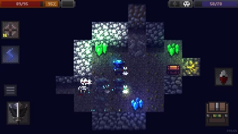 Caves Roguelike mod