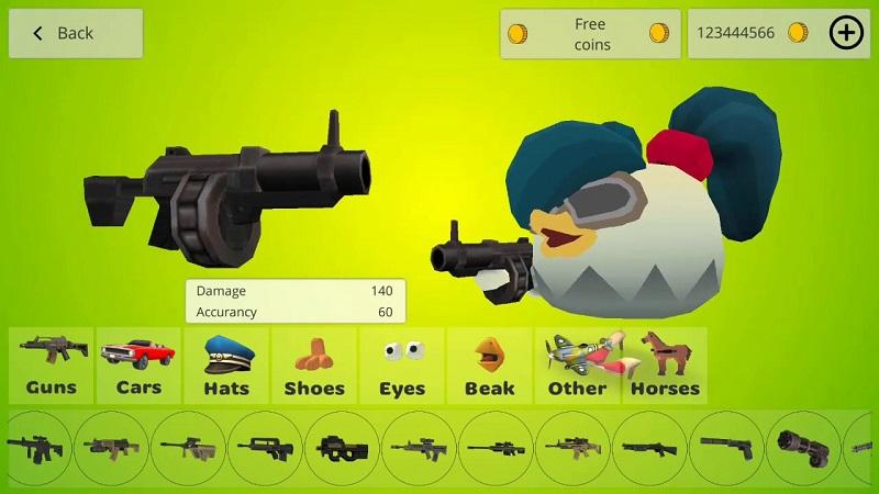 Chicken Gun mod android
