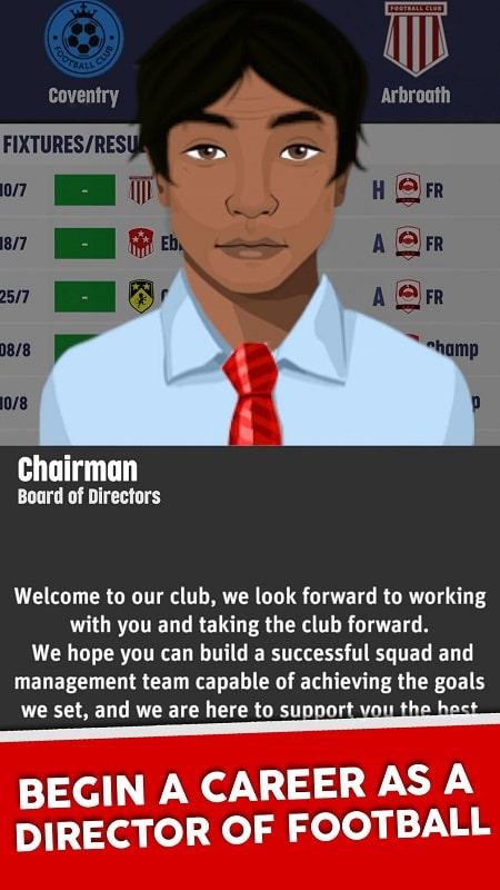 Club Soccer Director 2022 mod