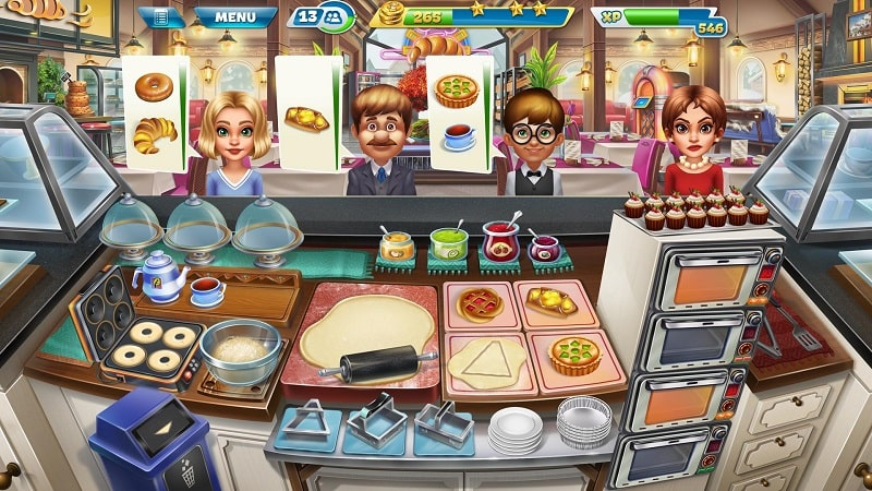 Cooking Fever mod free