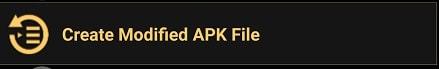 Creat Modified APK File