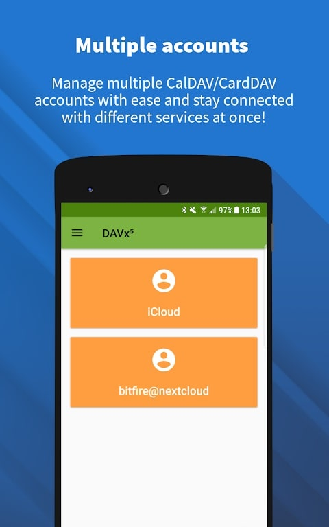 DAVx mod android