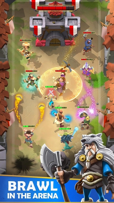 Darkfire Heroes mod android