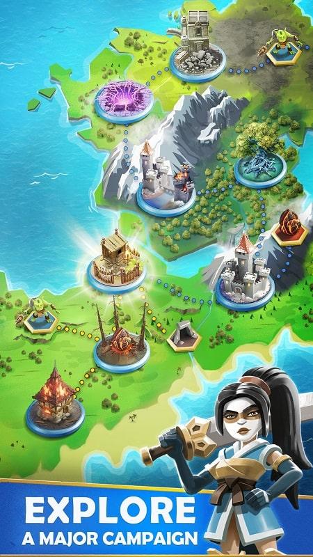 Darkfire Heroes mod apk free