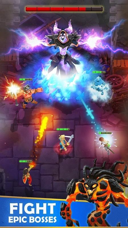 Darkfire Heroes mod free