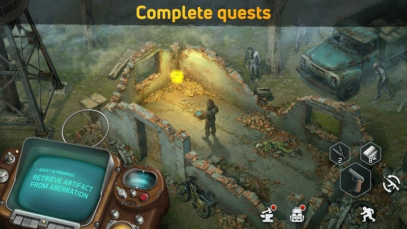 Dawn of Zombies mod android