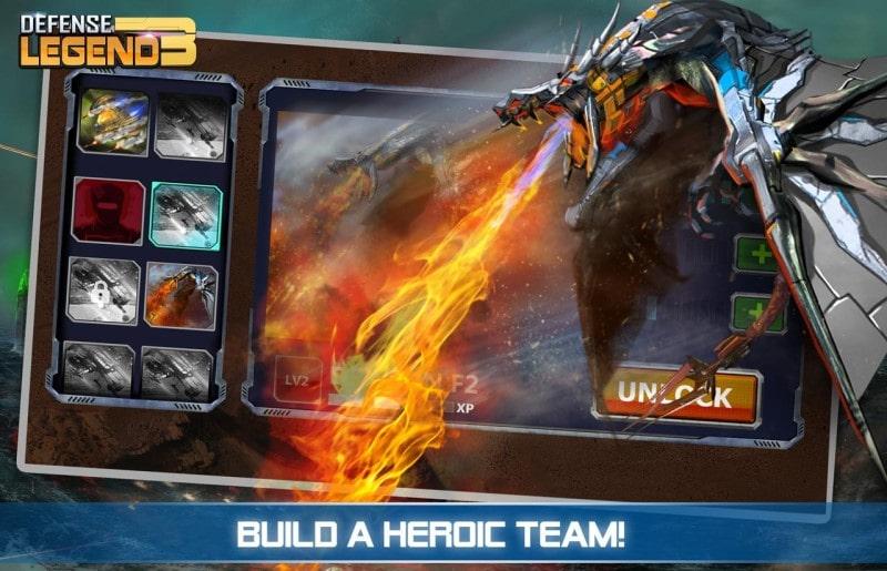 Defense Legend 3 mod free