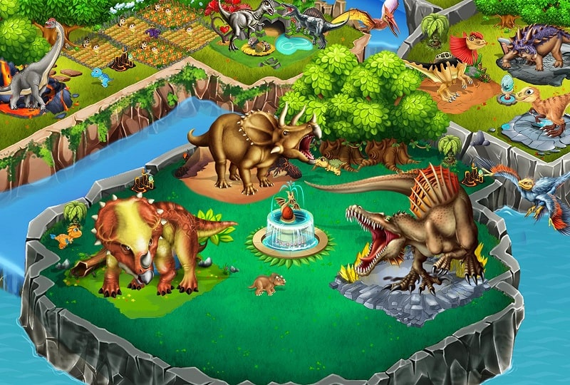 Dino Battle APK