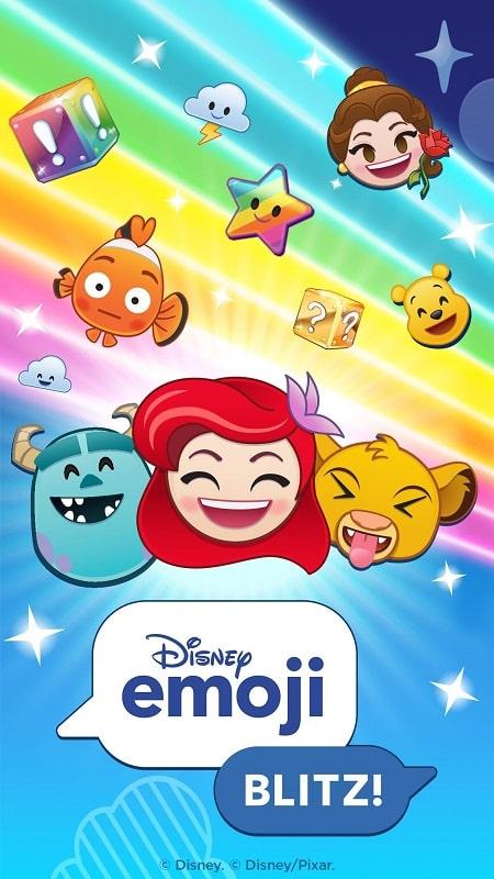 Disney Emoji Blitz mod 1