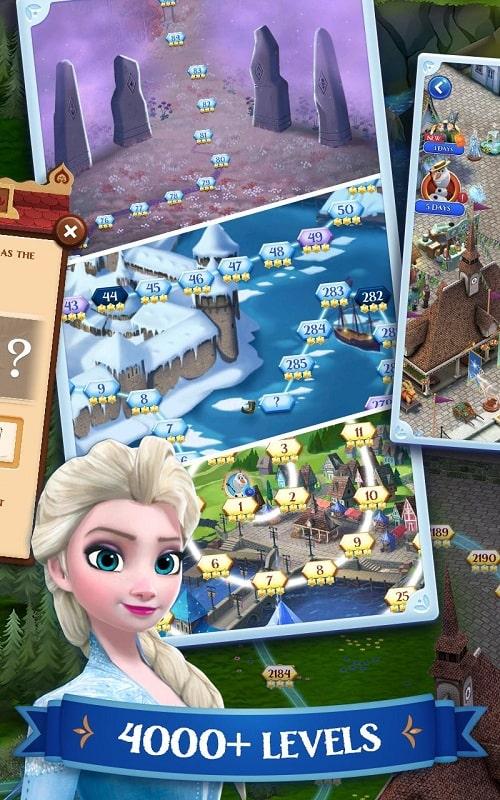 Disney Frozen Free Fall mod apk free