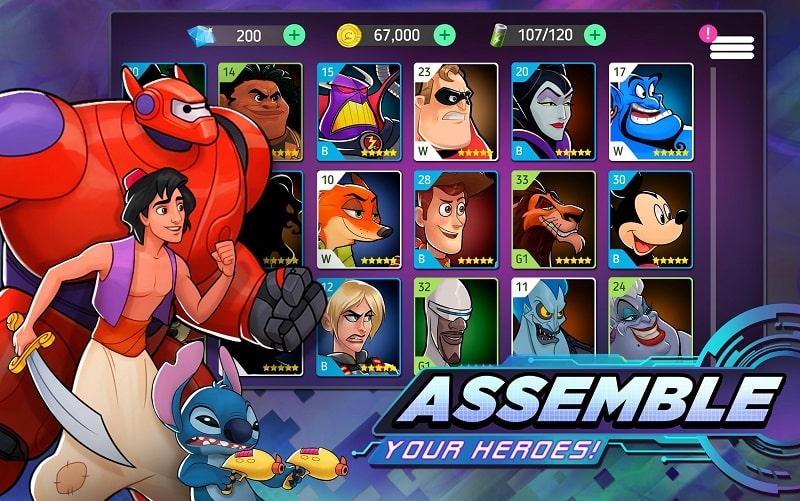 Disney-Heroes-Battle-Mode-mod-apk-free