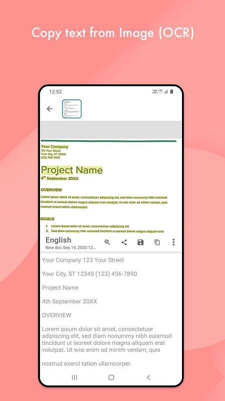 Document Scanner mod android