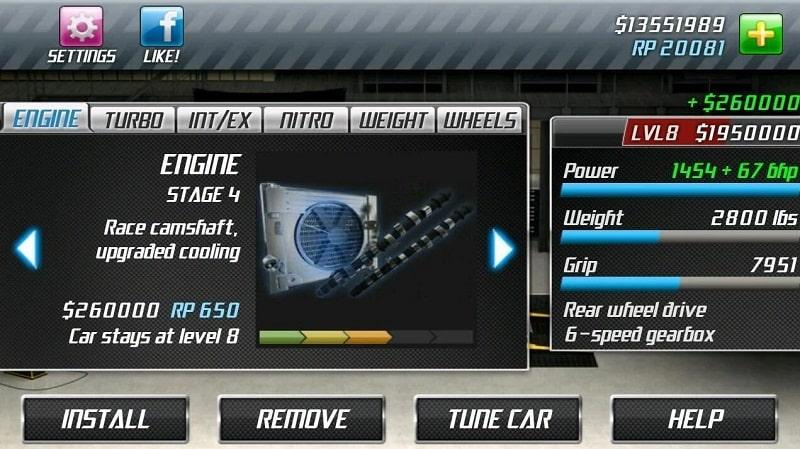 Drag Racing mod download