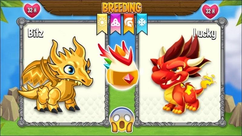 Dragon City Android mod min