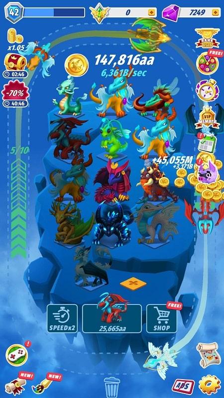 Dragons Evolution mod download