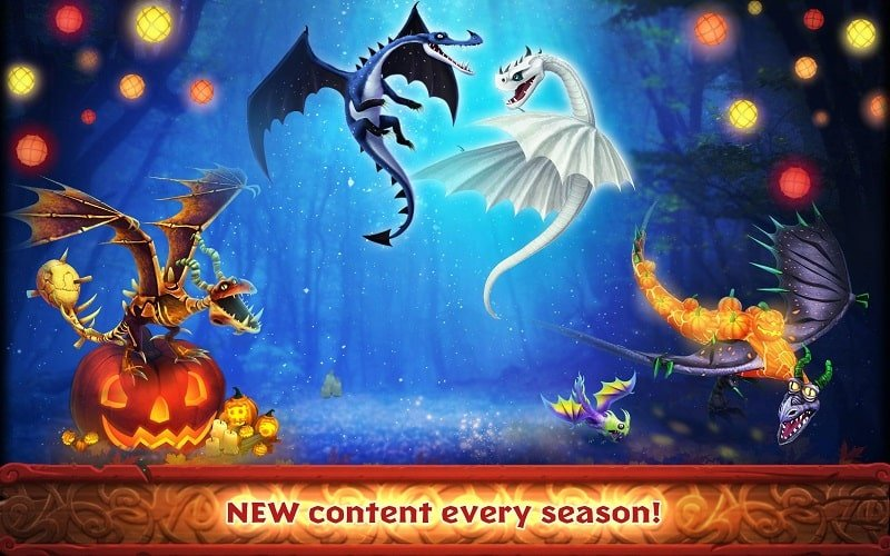 Dragons Rise of Berk mod android