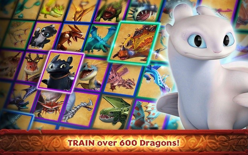 Dragons Rise of Berk mod apk