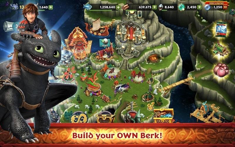 Dragons Rise of Berk mod